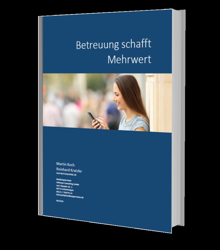 Betreuung von Chatbots - E-Book