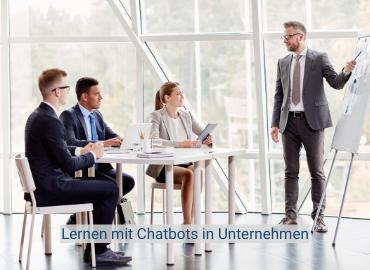 Lernen mit Chatbots in Unternehmen